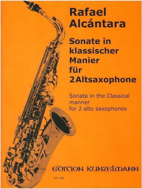 Sonate In Klassicher Manier - Rafael Alcantara - laflutedepan.com