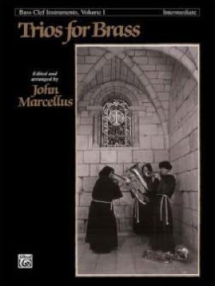 Trios For Brass Bass Clef Volume 1 - Intermediate - laflutedepan.com