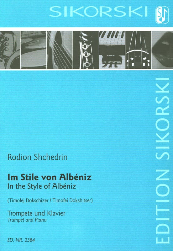 In the Style of Albeniz - Rodion Shchedrin - laflutedepan.com