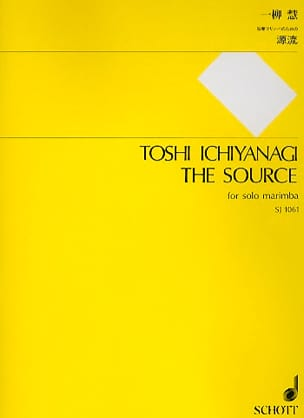 The Source Toshi Ichiyanagi Partition Marimba - laflutedepan