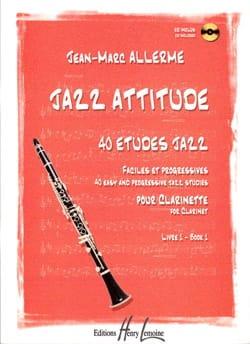 Jazz Attitude Livre 1 Jean-Marc Allerme Partition laflutedepan