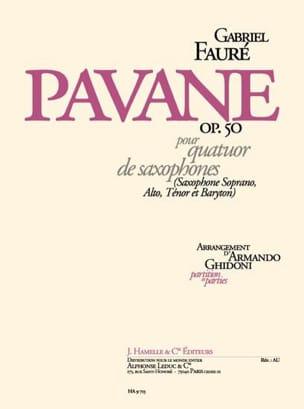 Gabriel Fauré - Pavane Opus 50 - Partition - di-arezzo.es