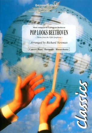 Pop Looks Beethoven BEETHOVEN Partition ENSEMBLES - laflutedepan