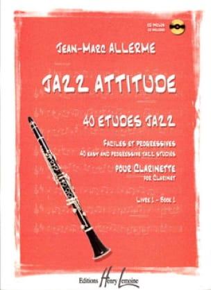 Jazz Attitude Livre 1 - Jean-Marc Allerme - laflutedepan.com