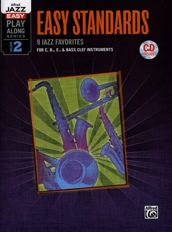 Alfred jazz easy play-along series volume 2 - Easy standards - laflutedepan.com