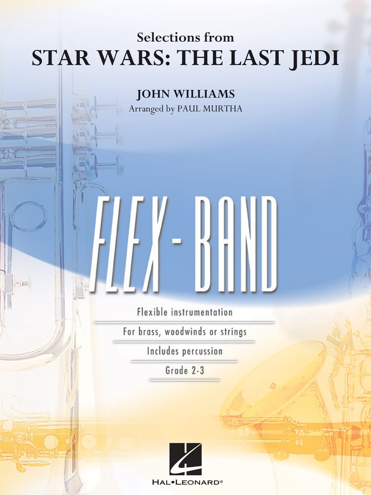 Selections from Star Wars: The Last Jedi - FlexBand - laflutedepan.com