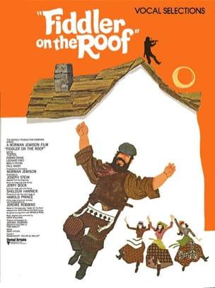 Un violon sur le toit Jerry Bock Partition laflutedepan