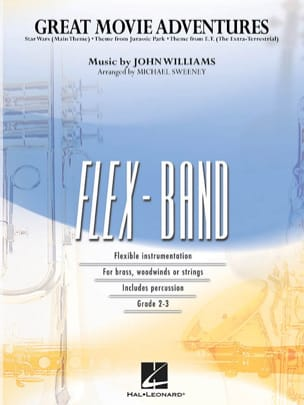 Great Movie Adventures - FlexBand John Williams Partition laflutedepan