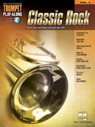 Trumpet Play-Along Volume 3 - Classic Rock - Partition - di-arezzo.fr