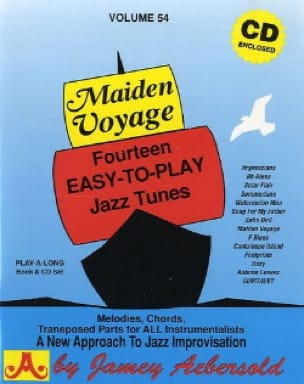 Volume 54 - Maiden Voyage - METHODE AEBERSOLD - laflutedepan.com