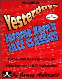 Volume 55 - Yesterdays METHODE AEBERSOLD Partition Jazz - laflutedepan