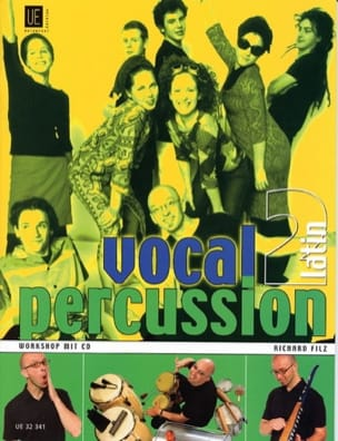 Vocal Percussion 2 - Latin Richard Filz Partition laflutedepan