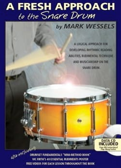 A Fresh Approach To The Snare Drum Mark Wessels Partition laflutedepan