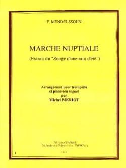 Marche Nuptiale MENDELSSOHN Partition Trompette - laflutedepan