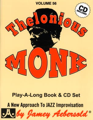 Volume 56 - Thelonious Monk METHODE AEBERSOLD Partition laflutedepan