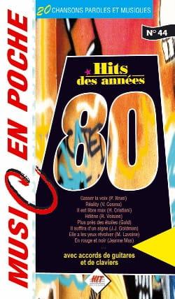 Music en poche N° 44 - Hits des années 80 Partition laflutedepan