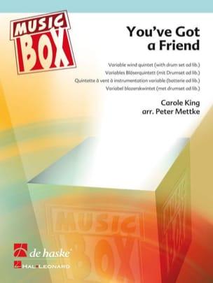 You've got a friend - music box Carole King Partition laflutedepan