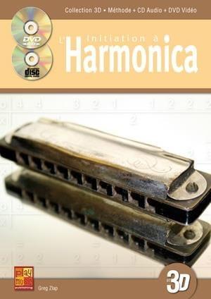 Initiation A L' Harmonica En 3D - Greg Zlap - laflutedepan.com