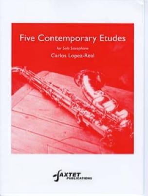 Five contemporary etudes - Carlos LOPEZ-REAL - laflutedepan.com