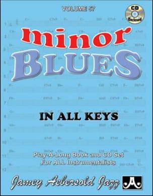 Volume 57 - Minor Blues METHODE AEBERSOLD Partition laflutedepan