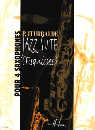 Jazz Suite Esquisses Pedro Iturralde Partition laflutedepan
