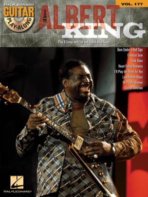 Guitar Play-Along Volume 177 - Albert King Albert King laflutedepan