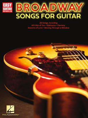 Broadway Songs for Guitar - Easy Guitar - laflutedepan.com