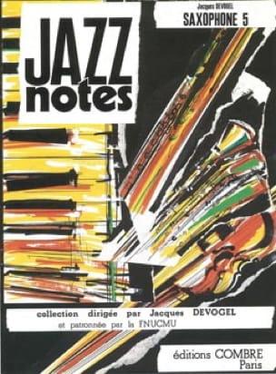 Jazz Notes Volume 5 - Jacques Devogel - Partition - laflutedepan.com