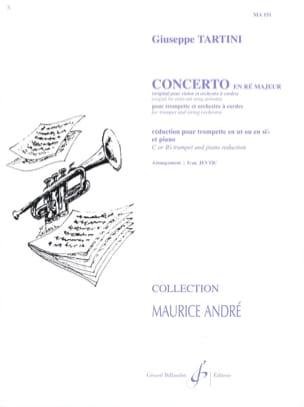 Concerto En Ré Majeur TARTINI Partition Trompette - laflutedepan