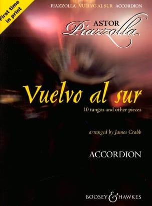 Vuelvo Al Sur Astor Piazzolla Partition Accordéon - laflutedepan