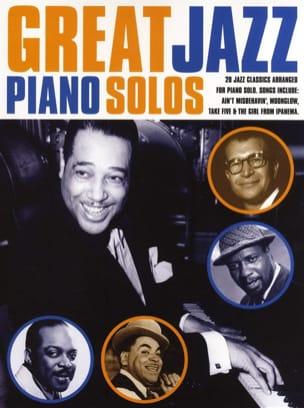 - Great Jazz Piano Solo - Partition - di-arezzo.com
