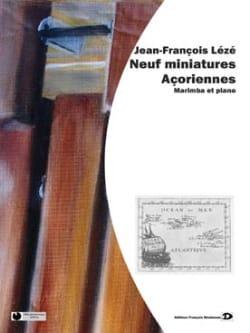 Neuf Miniatures Açoriennes Jean-François Lézé Partition laflutedepan