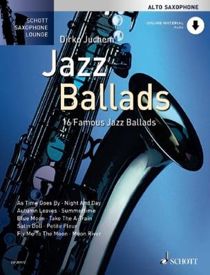 Jazz ballads Partition Saxophone - laflutedepan