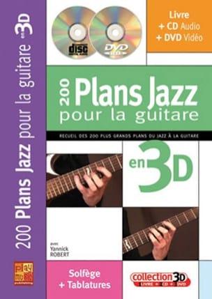 200 Plans Jazz Pour la Guitare En 3D Yannick Robert laflutedepan