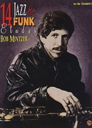14 Jazz & Funk Etudes - Bob Mintzer - Partition - laflutedepan.com