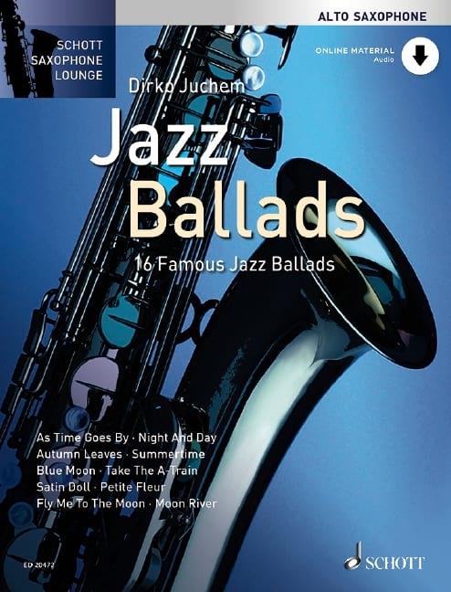Jazz ballads - Partition - Saxophone - laflutedepan.com