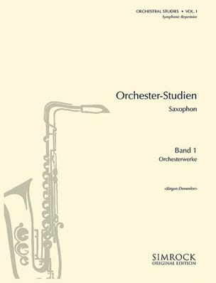 Orchestral Studies Volume 1 Partition Saxophone - laflutedepan