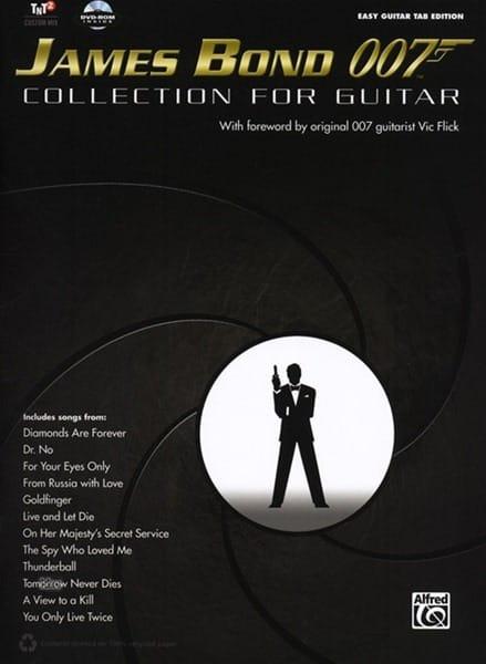 James Bond 007 - Collection for Guitar - laflutedepan.com