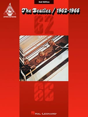 1962-1966 Rouge - 2nd Edition BEATLES Partition laflutedepan
