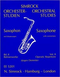 Orchestral Studies Volume 2 Partition Saxophone - laflutedepan