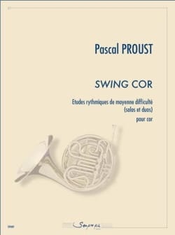 Swing cor Pascal Proust Partition Cor - laflutedepan