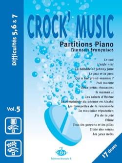 Crock' music Volume 5 Partition Chanson française - laflutedepan