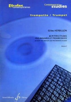 48 Petites études volume 1 Gilles Herbillon Partition laflutedepan