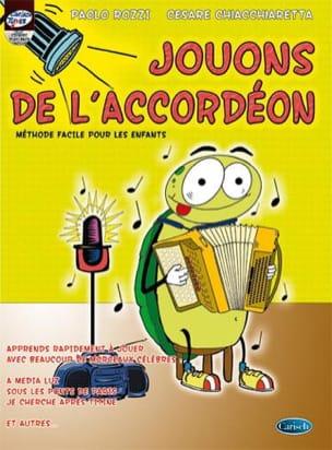 Jouons de l'accordéon Rozzi Paolo / Chiacchieretta Cesare laflutedepan