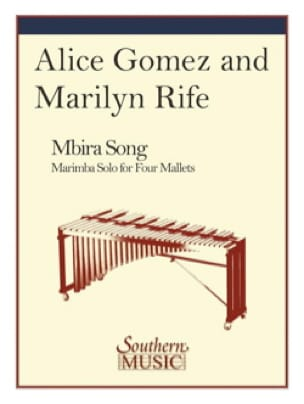 Mbira Song - Alice Gomez & Marilyn Rife - Partition - laflutedepan.com