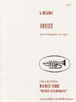 Sonate Georges Delerue Partition Trompette - laflutedepan
