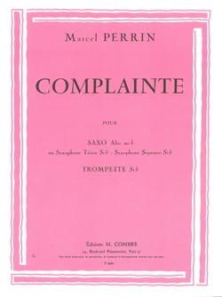 Complainte Marcel Perrin Partition Saxophone - laflutedepan
