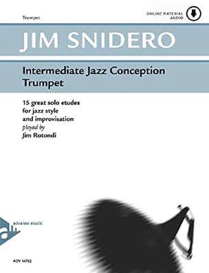 Jim Snidero - Intermediate Jazz Design - 15 Great Solo Etudes - Partition - di-arezzo.co.uk