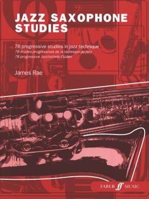 Jazz Saxophone Studies James Rae Partition Saxophone - laflutedepan