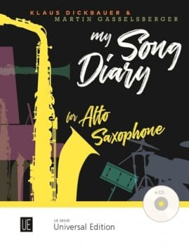 My Song Diary Klaus Dickbauer Partition Saxophone - laflutedepan